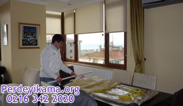 kadıköy stor perde yıkama resmimiz